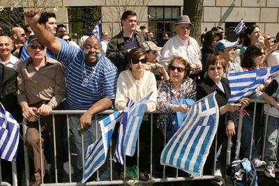 Από Ελληνική παρ�λαση στο Σικάγο των Η.Π.Α.