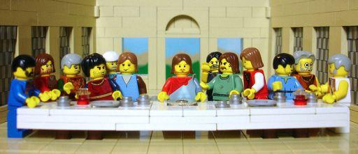 Ο Μυστικός Δείπνος - Lego (Brick Testament)
