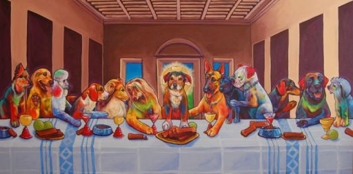 Ο Μυστικός Δείπνος - Dinner and Drinks with the Son of Dog by Ron Burns
