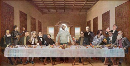 Ο Μυστικός Δείπνος - Last Supper with Scientists
