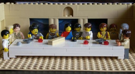 Ο Μυστικός Δείπνος - Lego