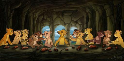 Ο Μυστικός Δείπνος - Lion King