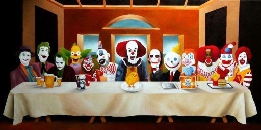 Ο Μυστικός Δείπνος - Scary Clowns